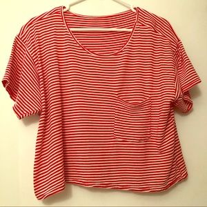 American Apparel striped top